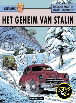 Lefranc 24 - Het Geheim van Stalin