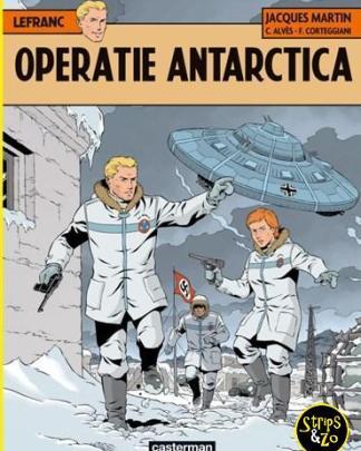 Lefranc 26 - Operatie Antarctica