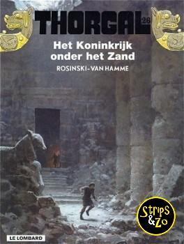 Thorgal 26 - Het koninkrijk onder het Zand