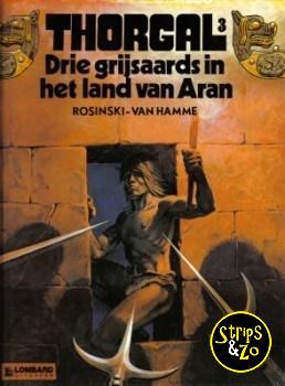 Thorgal 3 - Drie grijsaards in het land van Aran