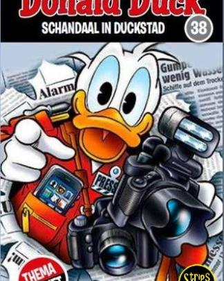 donald duck thema pocket 38 Schandaal in Duckstad