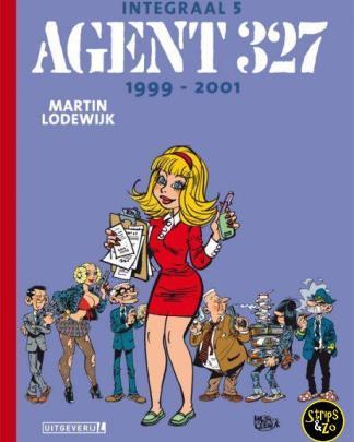 Agent 327 - Integraal 5 - 1999 - 2001