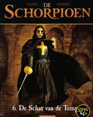 Schorpioen de 6 De schat van de tempel