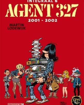 Agent 327 integraal 6 luxe 2001 2002