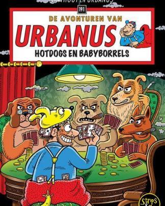 De Avonturen van Urbanus 191 Hotdogs en Babyborrels