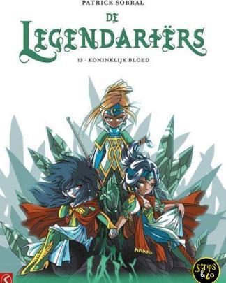 De Legendariers 13 Koninklijk Bloed