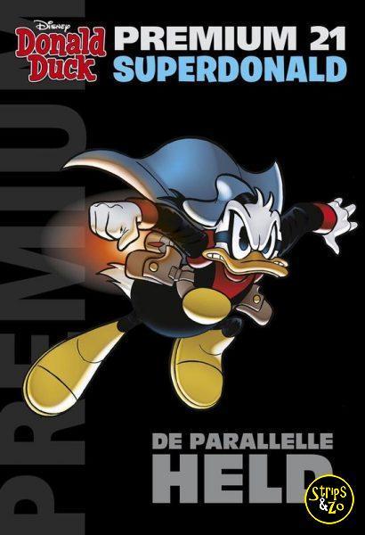 Donald Duck Premium Pocket 21 Superdonald De parallelle held