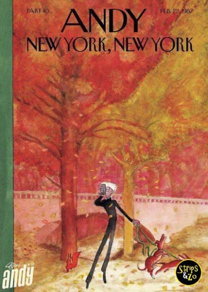 Andy Comic 10 New York New York