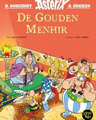 Asterix verhalen 4 De Gouden Menhir