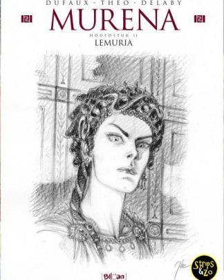 Murena 11 Lemuria schetsboek