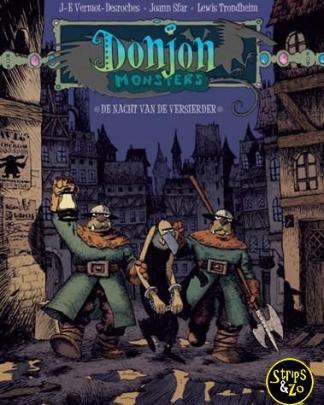 Donjon Monsters 5 De nacht van de versierder