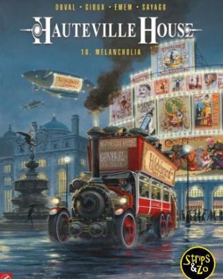 Hauteville House 16 Melancholia