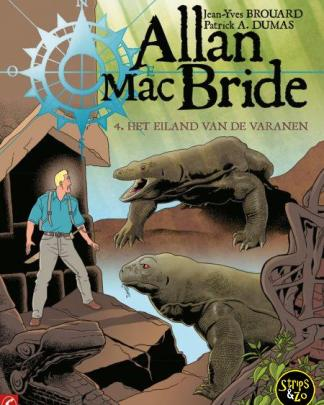 Allan Mac Bride 4 Het eiland van de varanen
