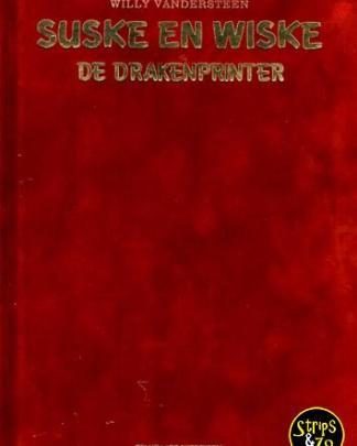 Suske en Wiske 358 De Drakenprinter LUXE VELOURS