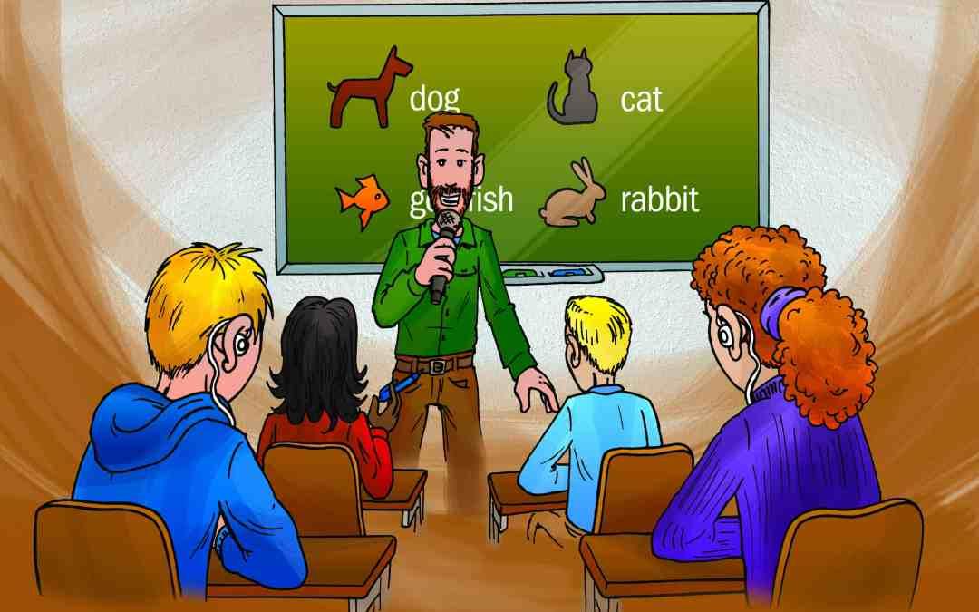 Oortjes in het onderwijs voor Schooljournaal
