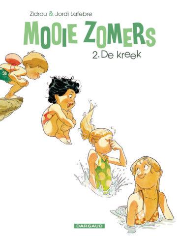 De kreek, Mooie Zomers 2, Strip, Stripboek, Mooie Zomers, Zidrou, Lafebre, Kopen, Bestellen