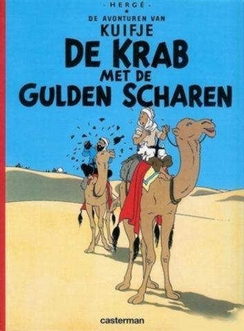 Kuifje 9, Krab met de Gulden Scharen, Album, Strip, Stripboek, Stripverhaal, Haddock, Kopen, Bestellen, Webwinkel, online
