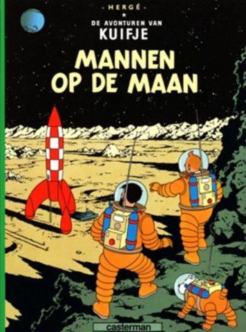 kuifje 17, mannen op de maan, 9789030325055