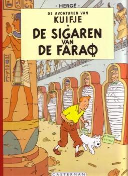Kuifje 4, sigaren van de farao, strip, stripboek, album, stripverhaal, kopen, bestellen