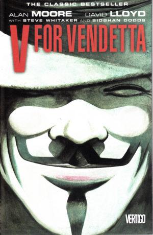 V for Vendetta, Vendetta, Vertigo, Alan Moore, David Lloyd
