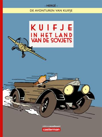 Sovjets Kleur HC, Rusland, Kuifje, Land, Sovjets, Kuifje Sovjets Kleur, Casterman, Hergé, Bareau, Moulinsart, Kopen, Bestellen, HC, SC