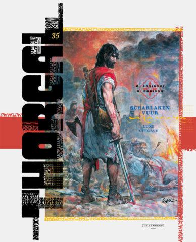 Thorgal 35 Luxe, Nieuwe Thorgal, Thorgal 2016, Thorgal 35, Thorgal 35 HC, Scharlaken Vuur, Rosinski, Dorison, Lombard