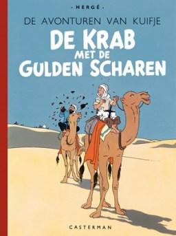 Kuifje 9 - De Krab, Krab met de Gulden Scharen Facsimile