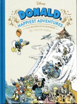 Donald Duck door Trondheim, op zoek naar geluk