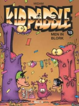 Kid Paddle 15, Men in Blork, 9789462106123