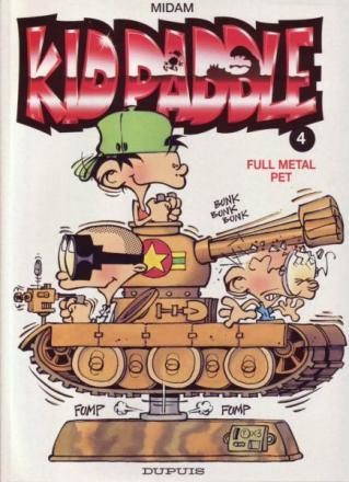 Kid Paddle 4, Full metal pet, 9789031420391