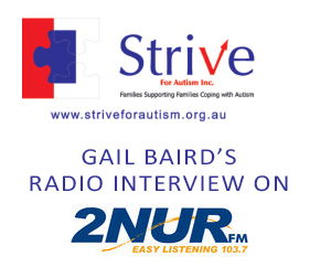 2NUR FM Interview Gail Baird from Strive For Autism