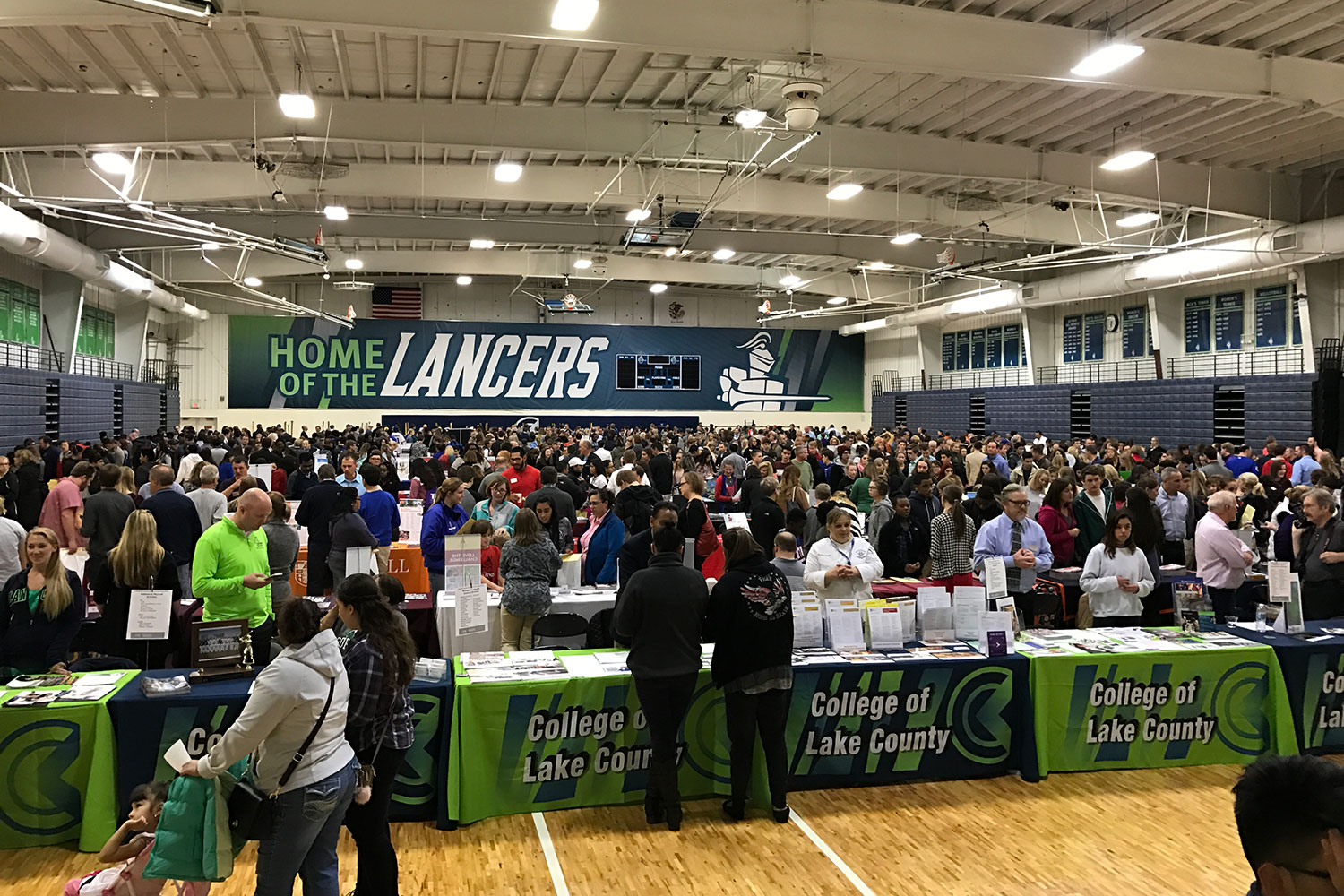 College Of Lake County College Fair Scanning