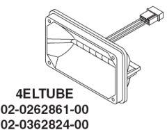 Whelen 400 Series Linear Strobe Tube/Reflector Assembly