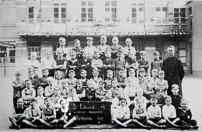 Herman Wijns in het eerste leerjaar