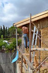 Strohballenhaus Kreta Griechenland