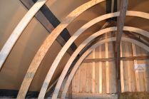 Bau Strohballengewölbe