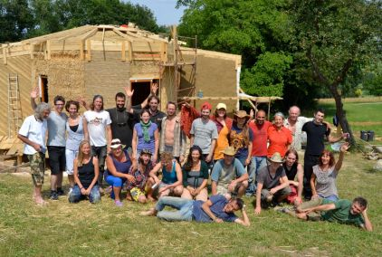 Straw Bale Roundhouse Workshop Upper Austria