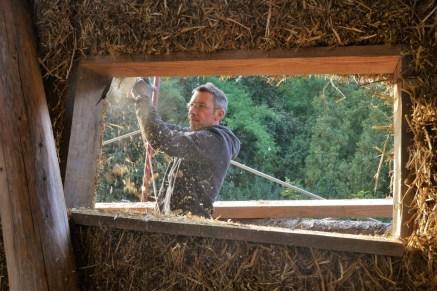 straw bale house belgium genk strohnatur