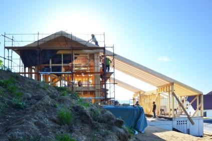 strawbalehouse-summerau-2018-roof-4