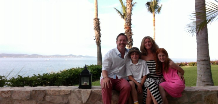 brad stroh family in mexico