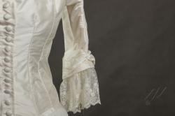 Suknia ślubna 1880r-4