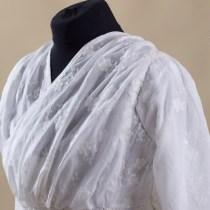 Suknia haftowana ok. 1797-1800r.