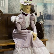 Suknia letnia 1897r.