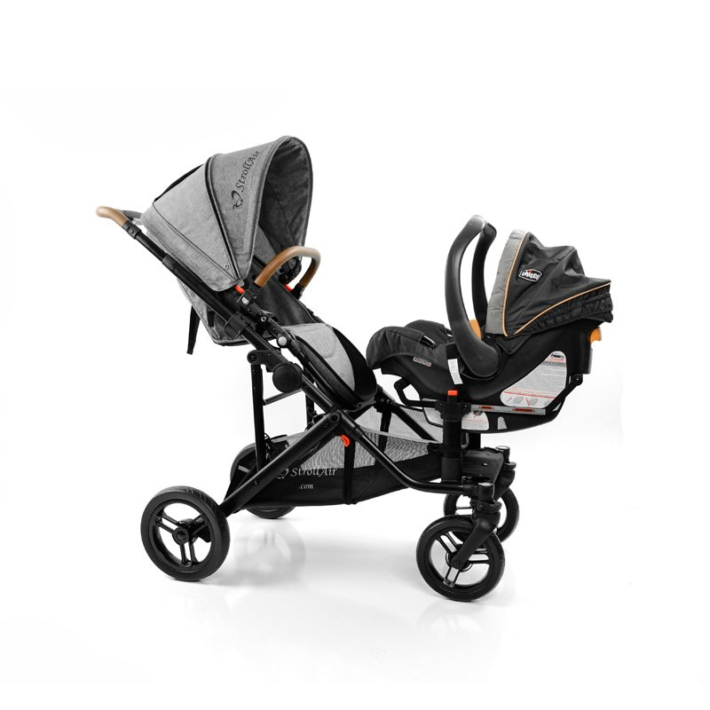StrollAir SOLO Seat With Infant Car Seat