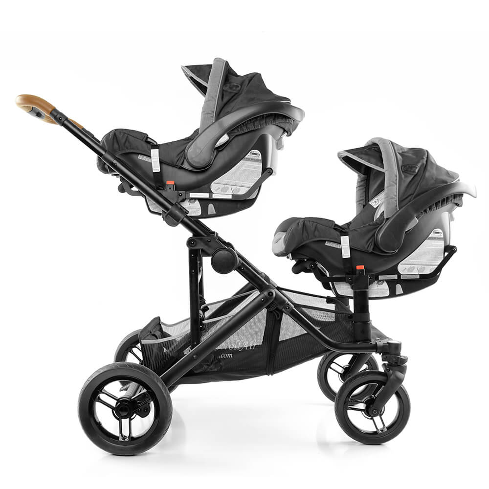 StrollAir Solo Stroller Compatible two Infant Car Seats