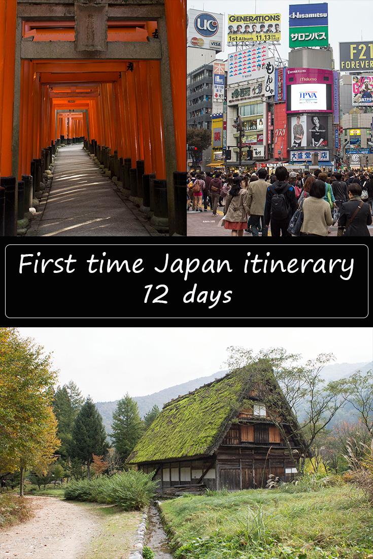 First time Japan itinerary 12 days