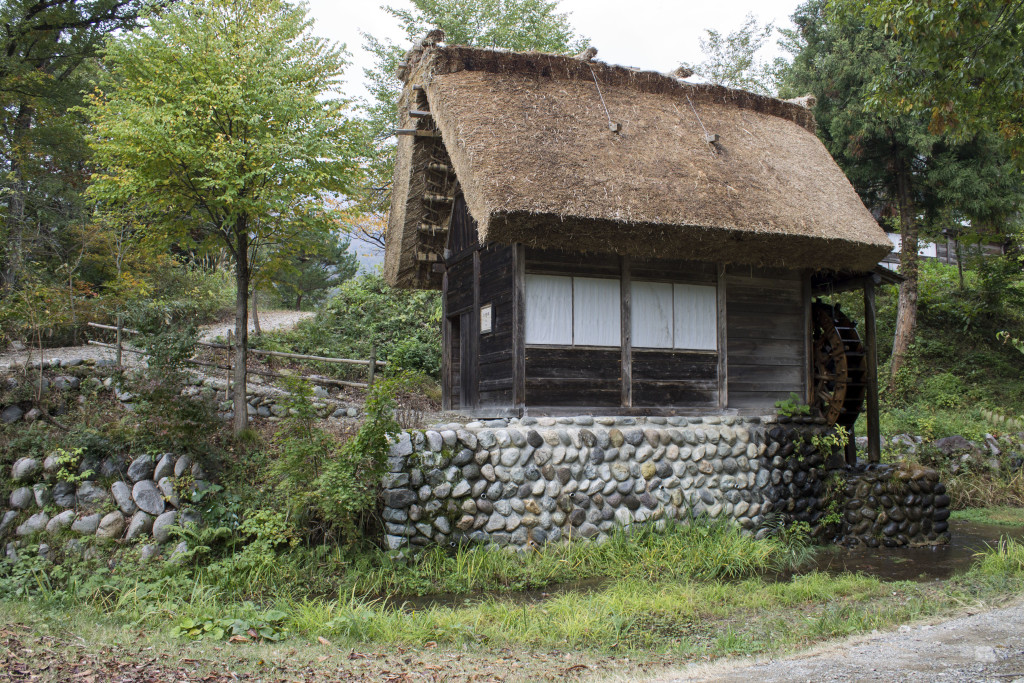 watermill shirakawa-go