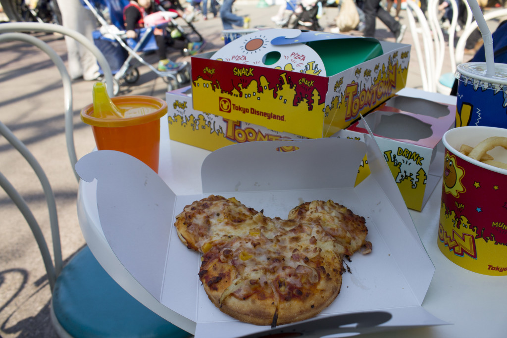 Tokyo Disneyland lunch
