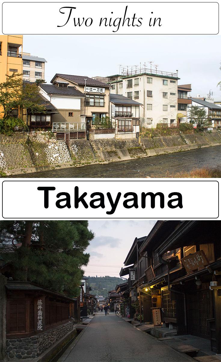 two nights in Takayama