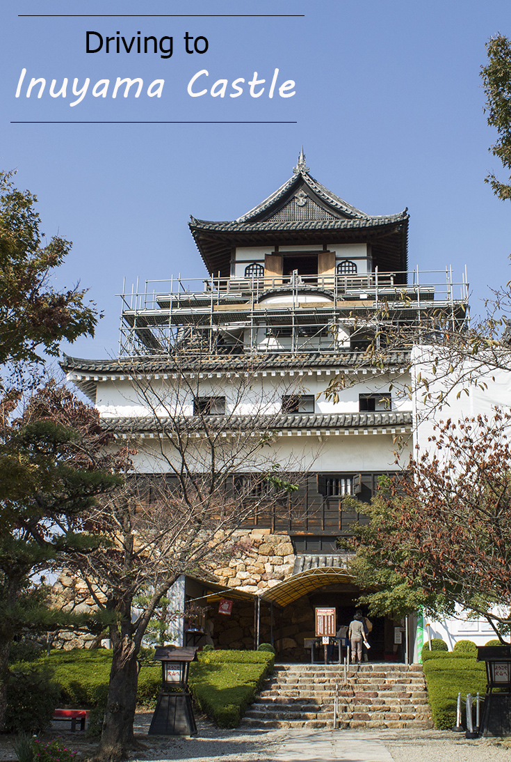 Driving to Inuyama Castle